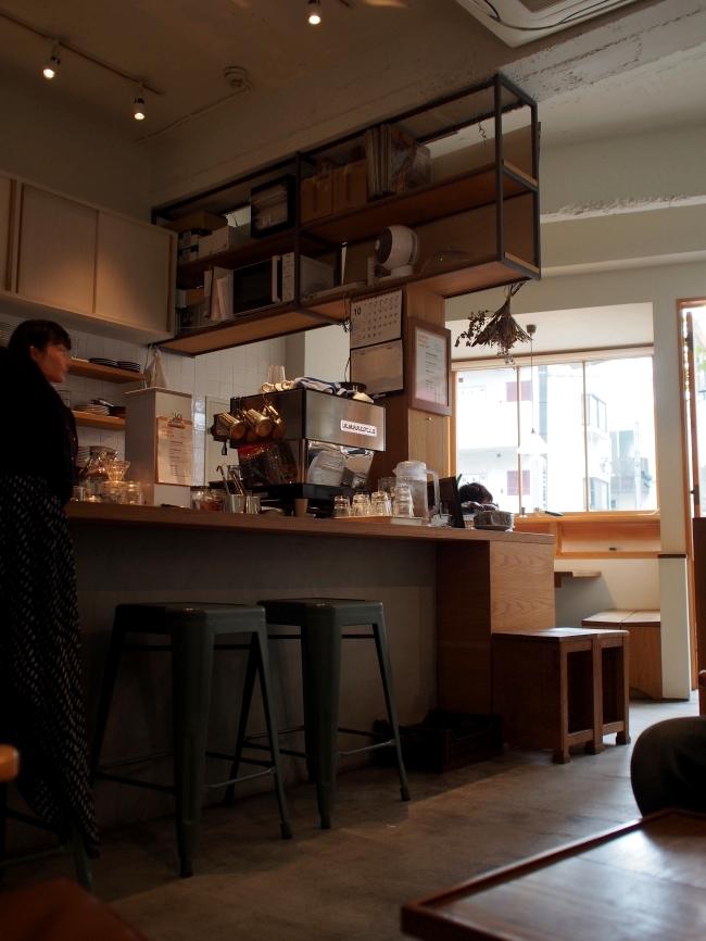 パーチコーヒー 店内