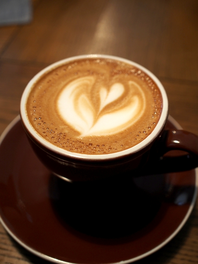 パーチコーヒーのカプチーノ