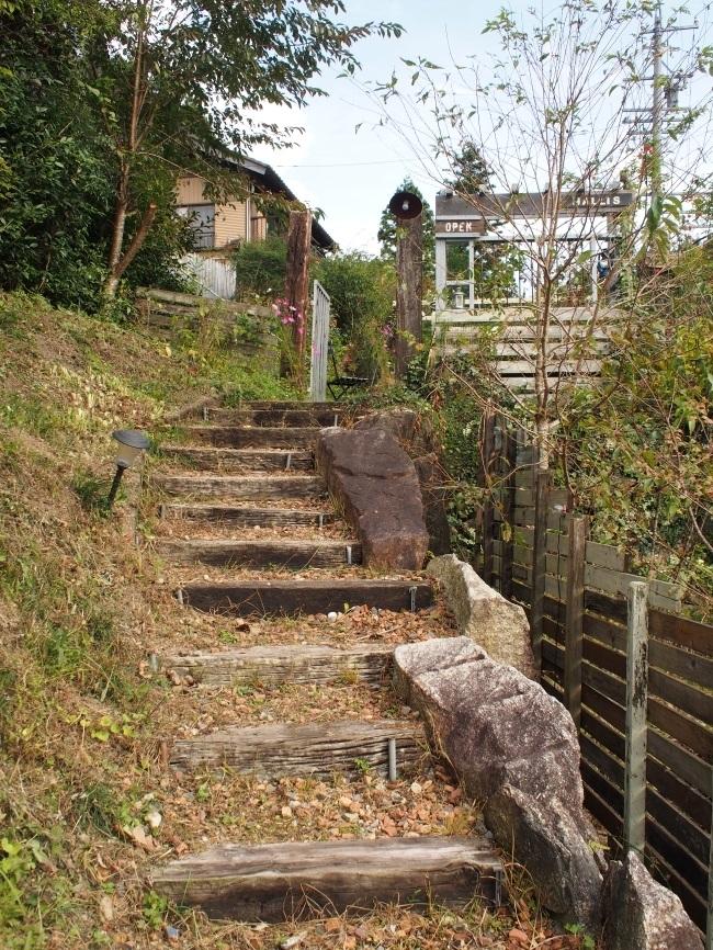ハリスカフェ 階段