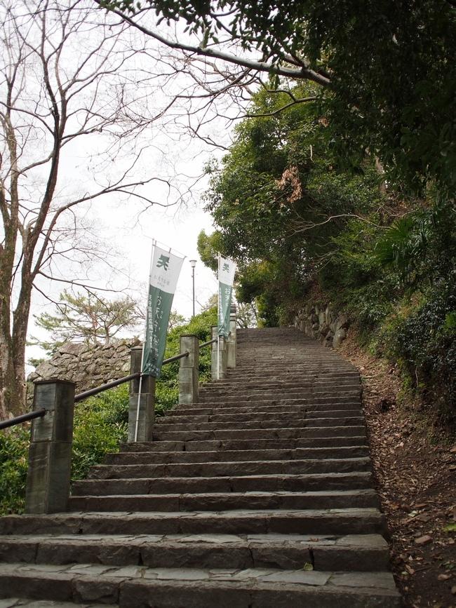和歌山城 天守へ