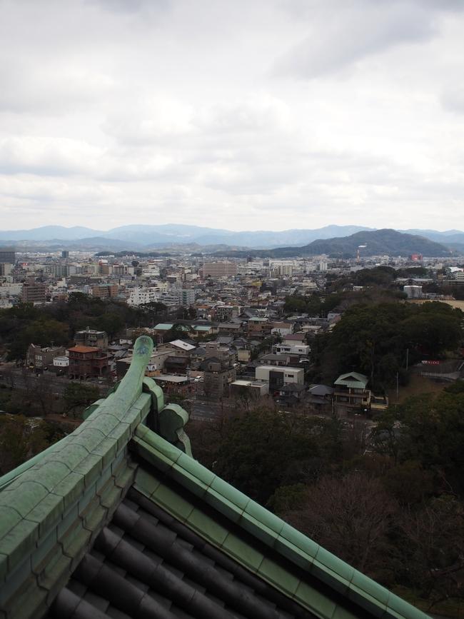 和歌山城 天守からの眺め1