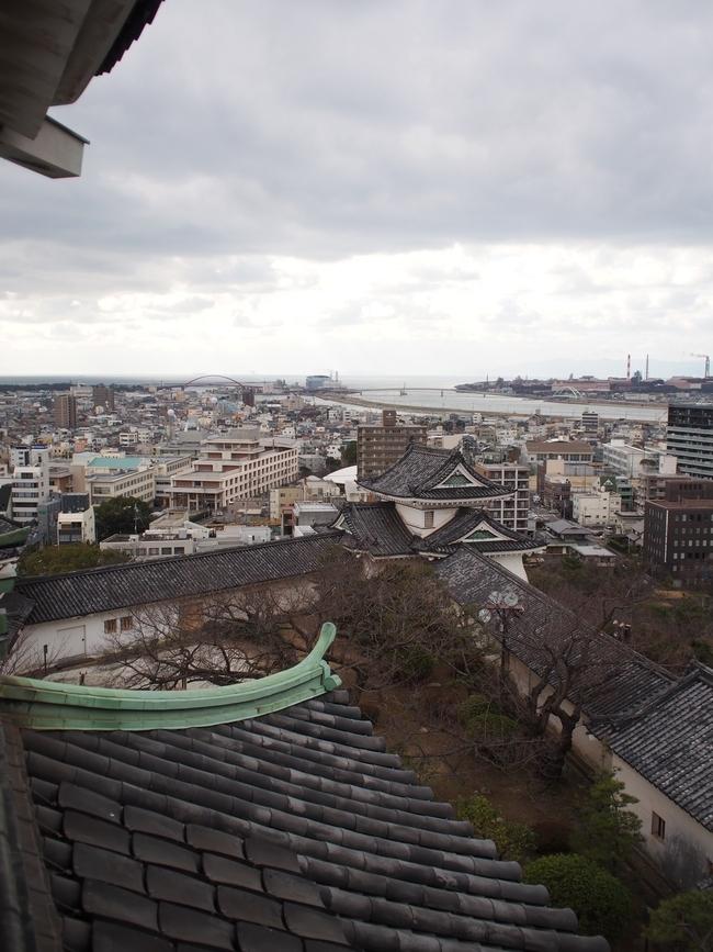 和歌山城 天守からの眺め2