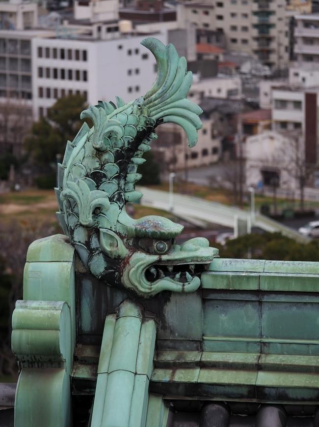 和歌山城の鯱