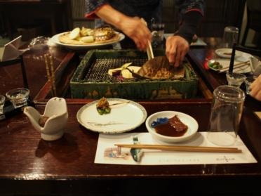 岩村山荘の食事 2