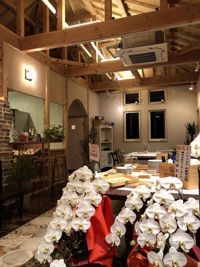 イタリア料理ラフ 店内1