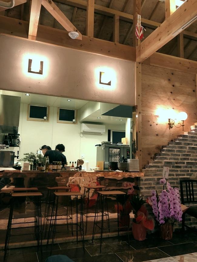 イタリア料理 ラフ 店内2
