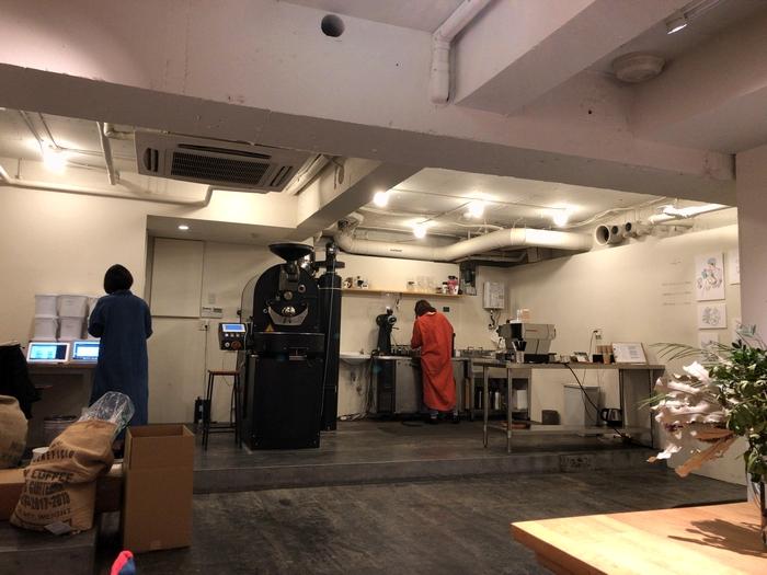 大阪コーヒー屋巡り HOOP 店内1