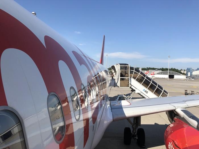 マルタ航空搭乗2