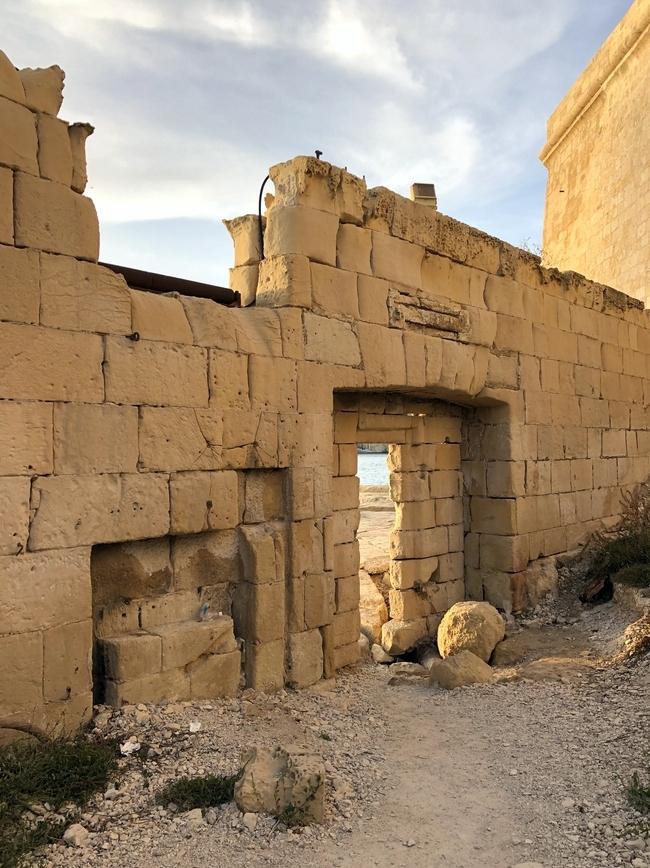 聖アンジェロ砦 Forti Sant' Anġlu のまわり4