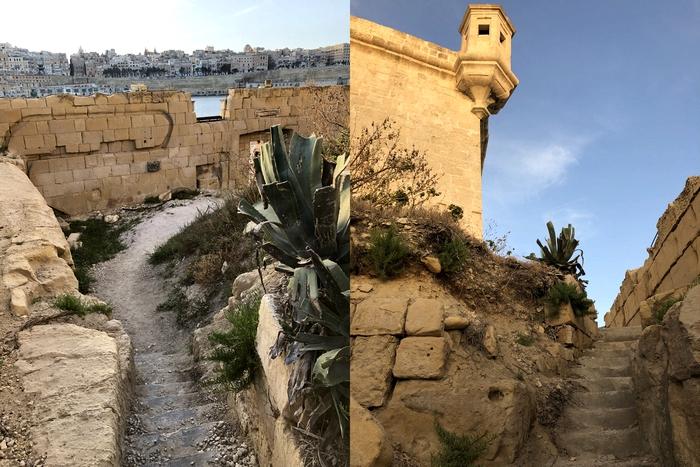 聖アンジェロ砦 Forti Sant' Anġlu のまわり3