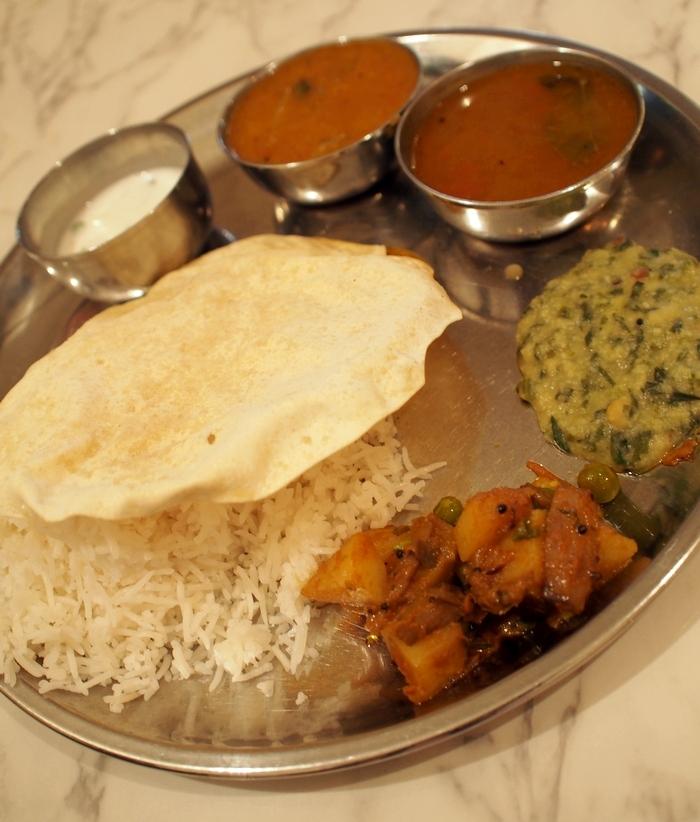 インド食堂タルカ ベジミールス