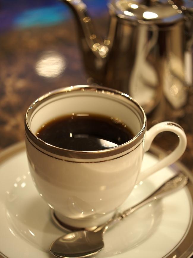 ピエールプレシュウズのコーヒー