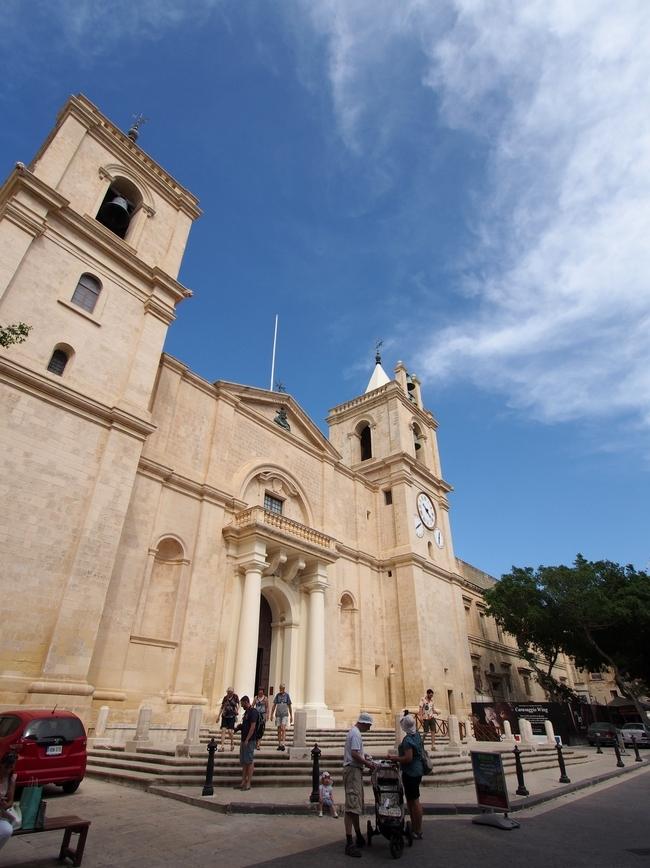 バレッタ St John's Co-Cathedral 聖ヨハネ准司教座聖堂