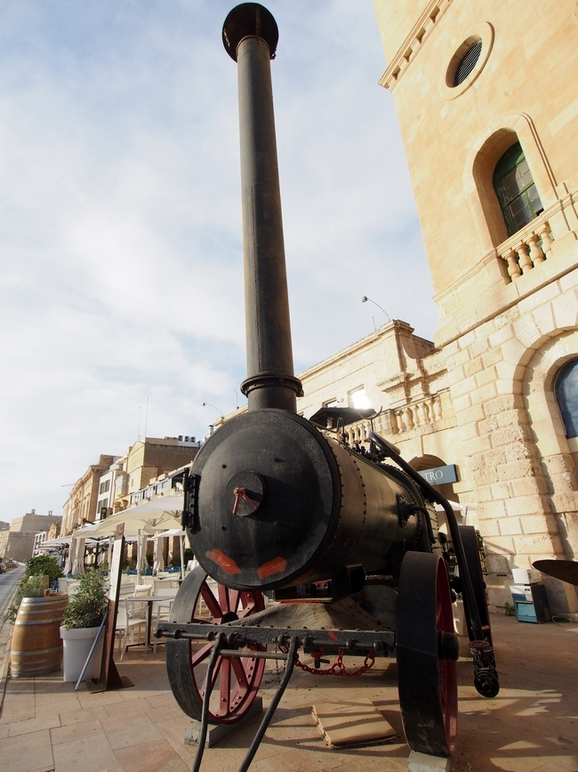 スリーシティーズ Steam Engine (Malta Maritime Museum)