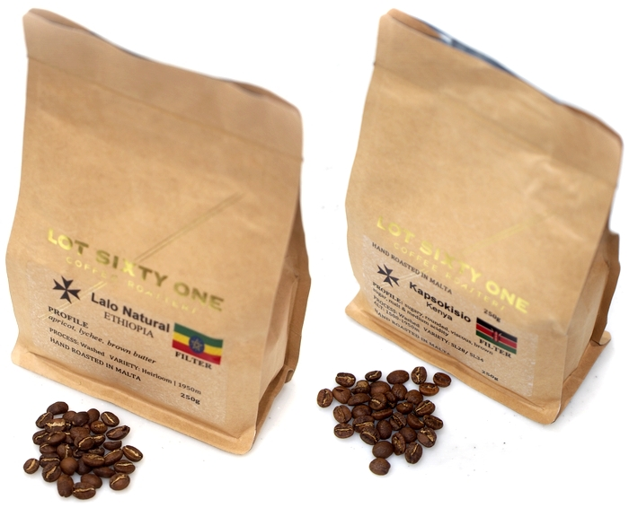 Lot Sixty One Coffee 購入した豆