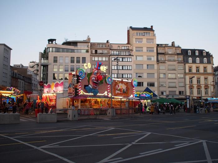 ルクセンブルク Avenue de la Liberté 広場