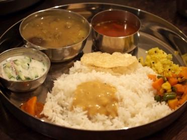 岐阜県瑞浪市のインド料理店タネヲマク 南インドの野菜定食