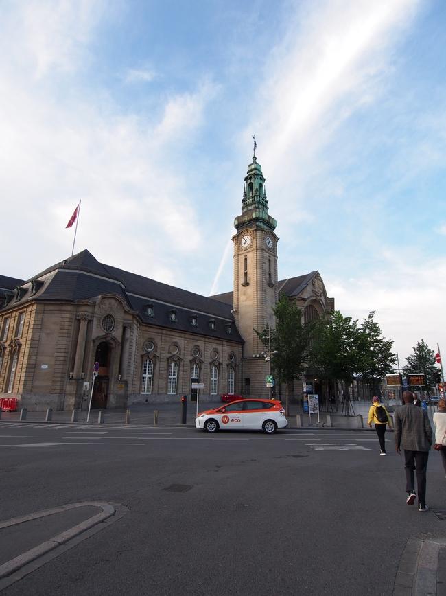 ルクセンブルク駅 Luxembourg (Gare centrale)