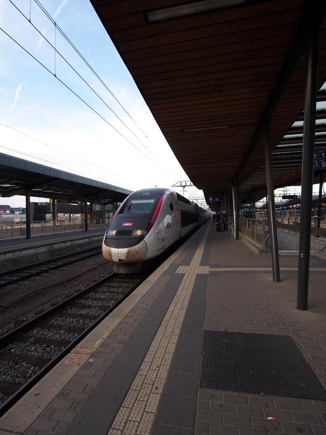 ルクセンブルク駅TGV
