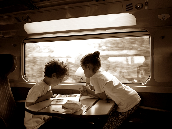 TGV車内2