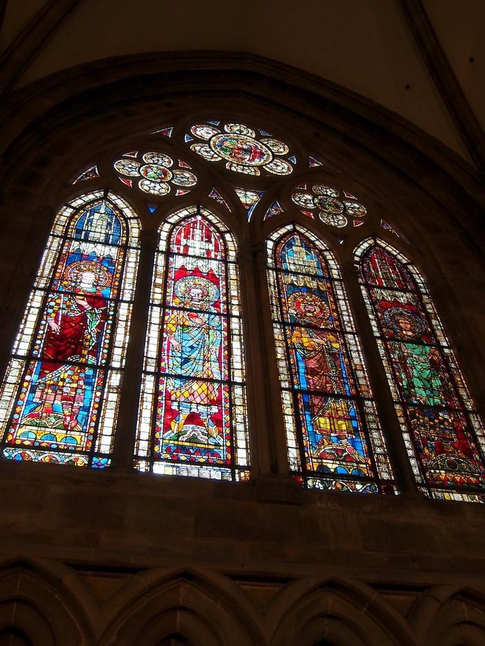 ストラスブール大聖堂 ステンドグラス