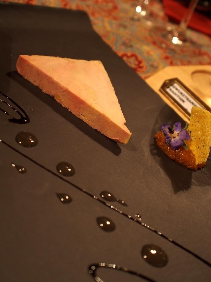 シェ・イヴォンヌ Foie gras d'oie maison