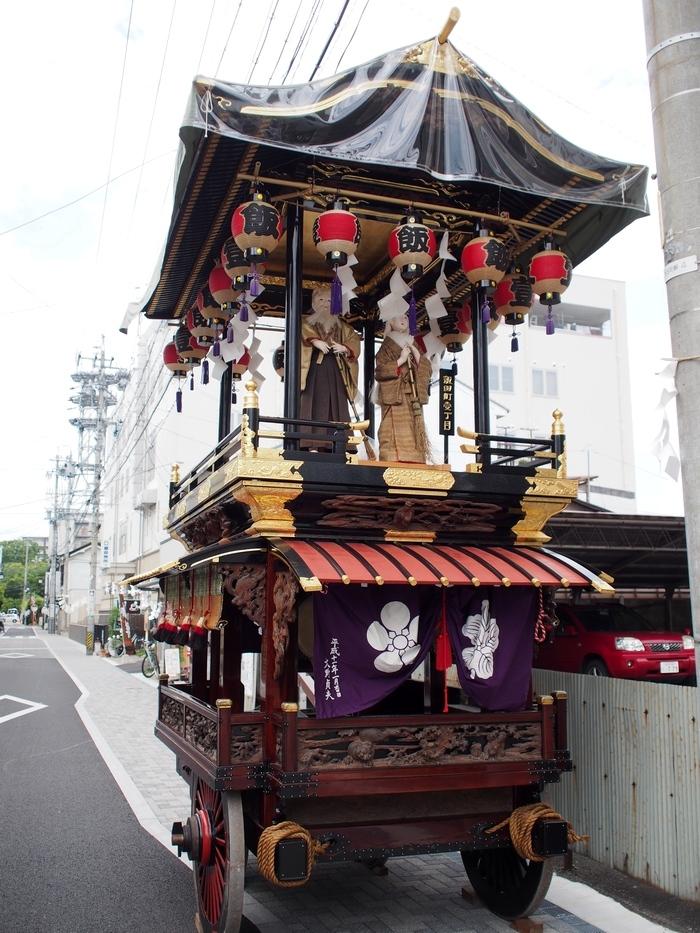 松本の街にあった山車