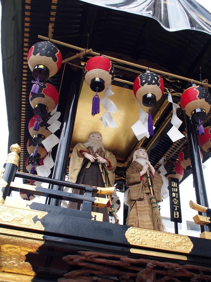 松本の街にあった山車2