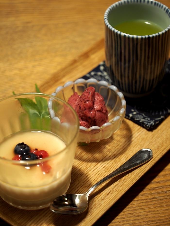 三水館の料理 デザート