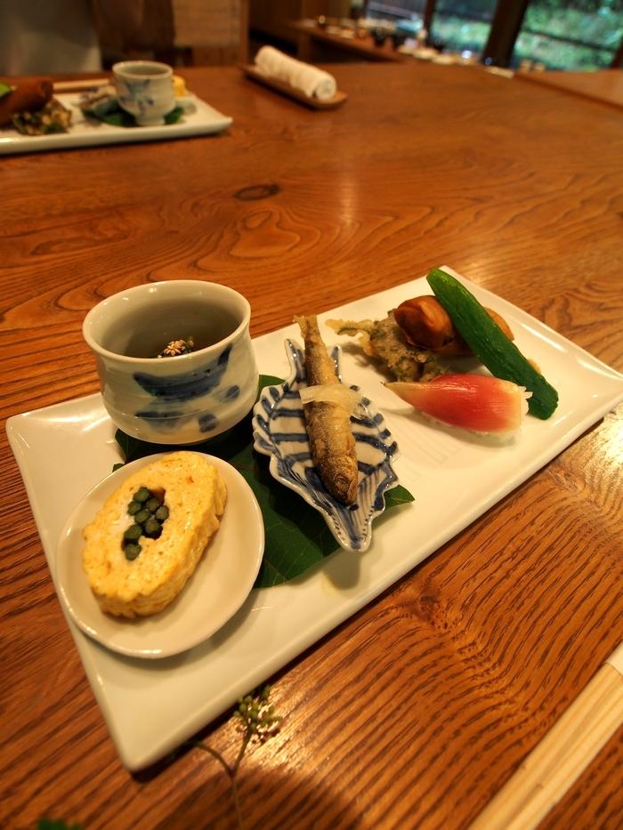 三水館の料理 前菜