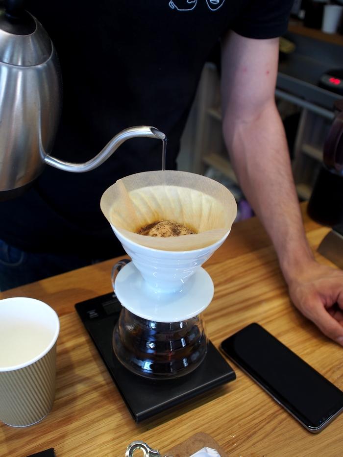 Coffee Stub V60ドリップ
