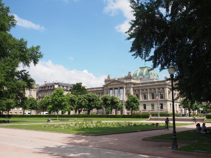 ストラスブールの街歩き「Place de la République」