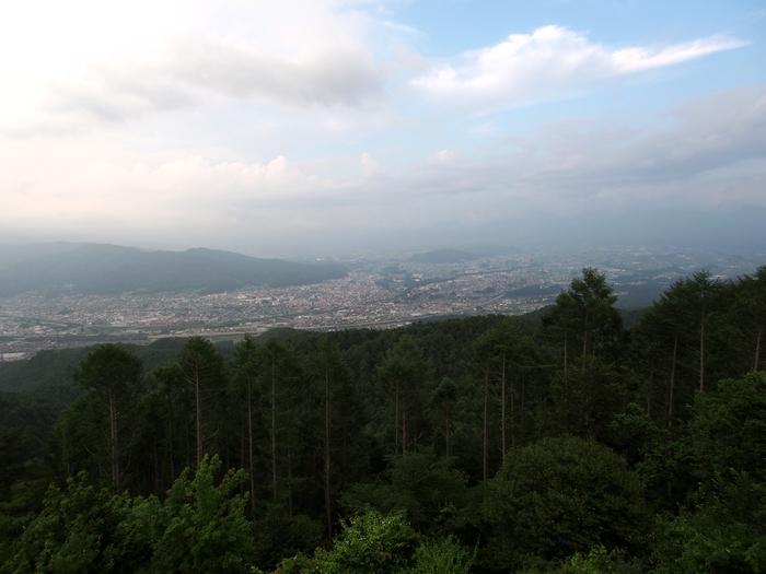 杖突峠からの眺め