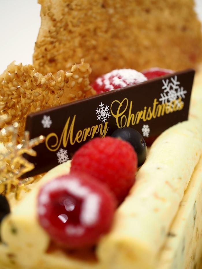 クリスマスケーキ2020 パティスリーアヴァロンのファンテジー ズーム