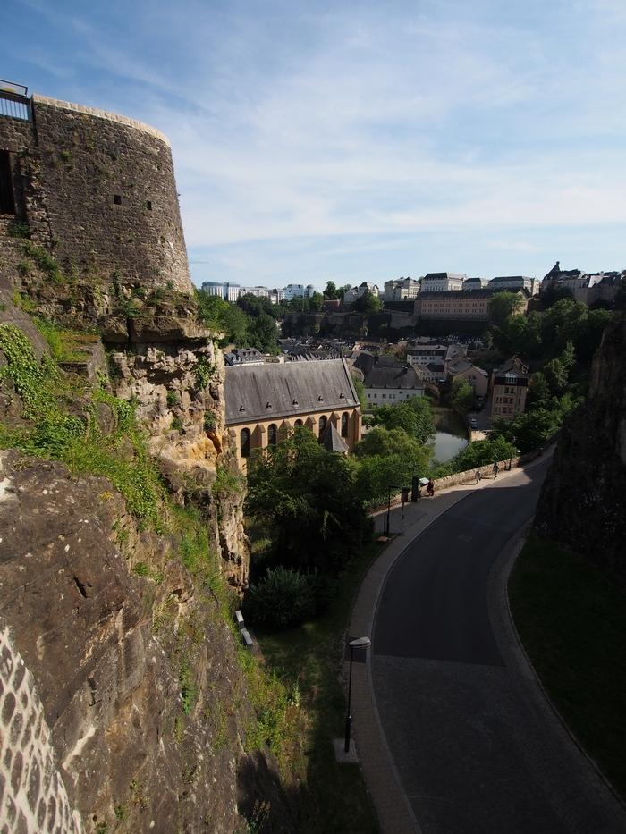 ボックの砲台 その14 要塞内部Schlassbréckからの眺め