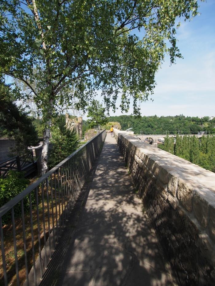 ボック要塞の上の通路