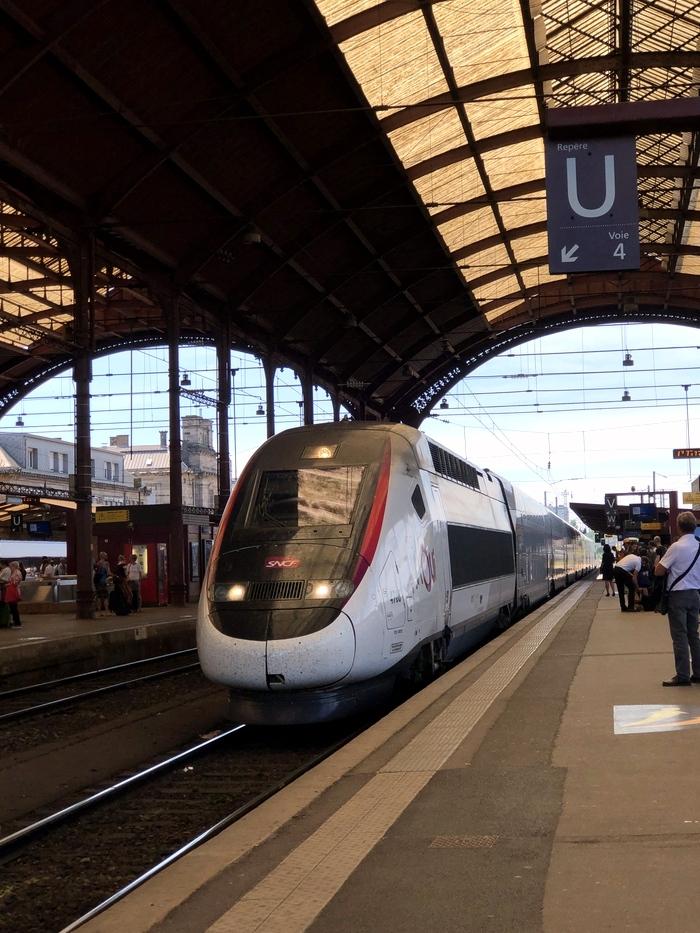 ストラスブール駅 TGV