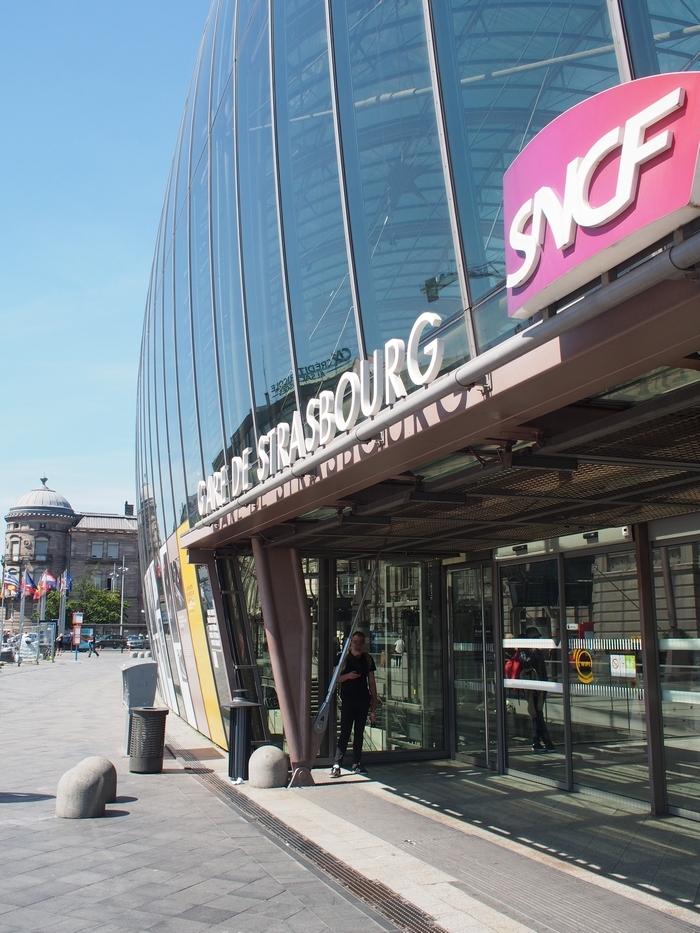ストラスブール駅 入口