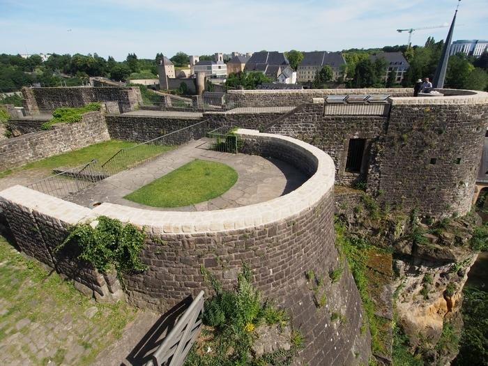 Schlassbréckからの眺め ボックの要塞