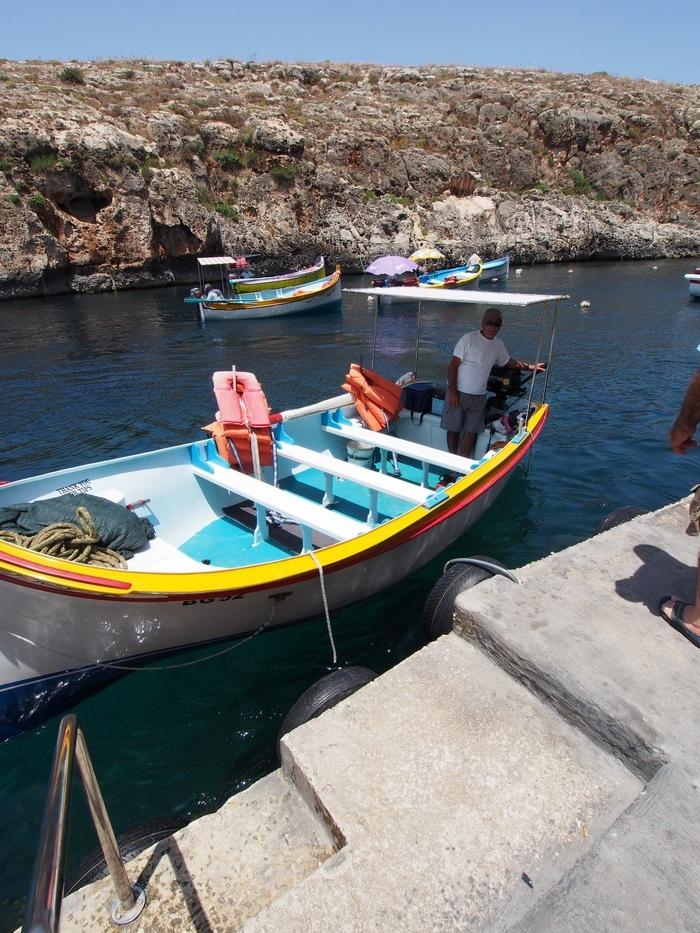 ボートサービス 乗り場とボート