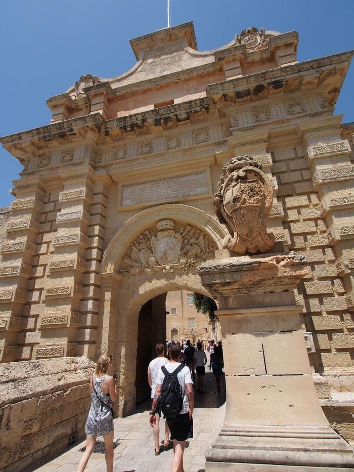 イムディーナ「Mdina Gate」寄りの画像
