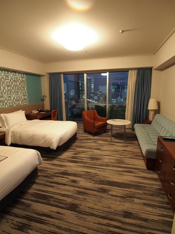 ザ・プリンスパークタワー東京 部屋ベッド