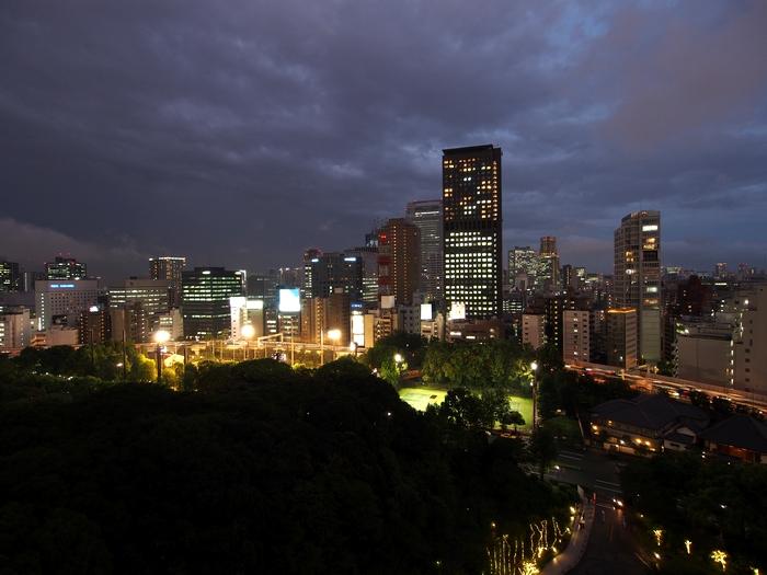 ザ・プリンスパークタワー東京の客室からの眺め2