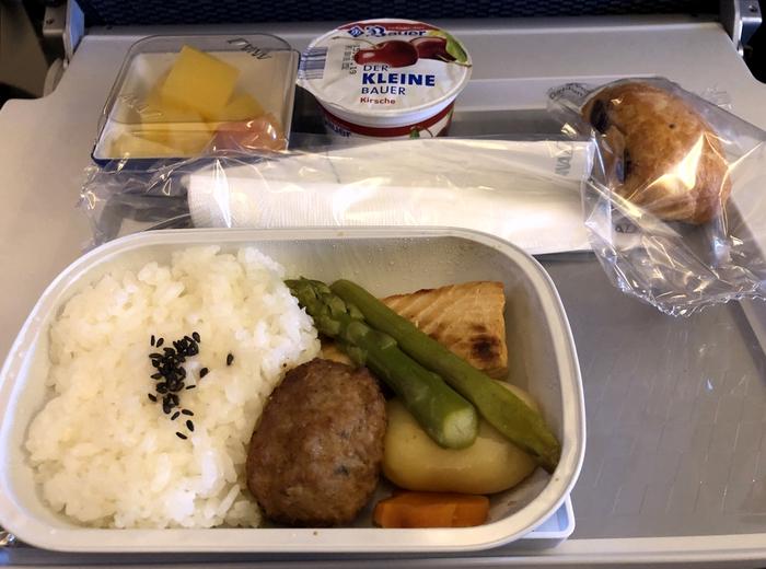 ANAの機内食2