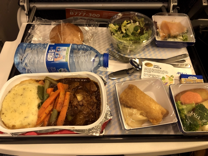 ANAの機内食1
