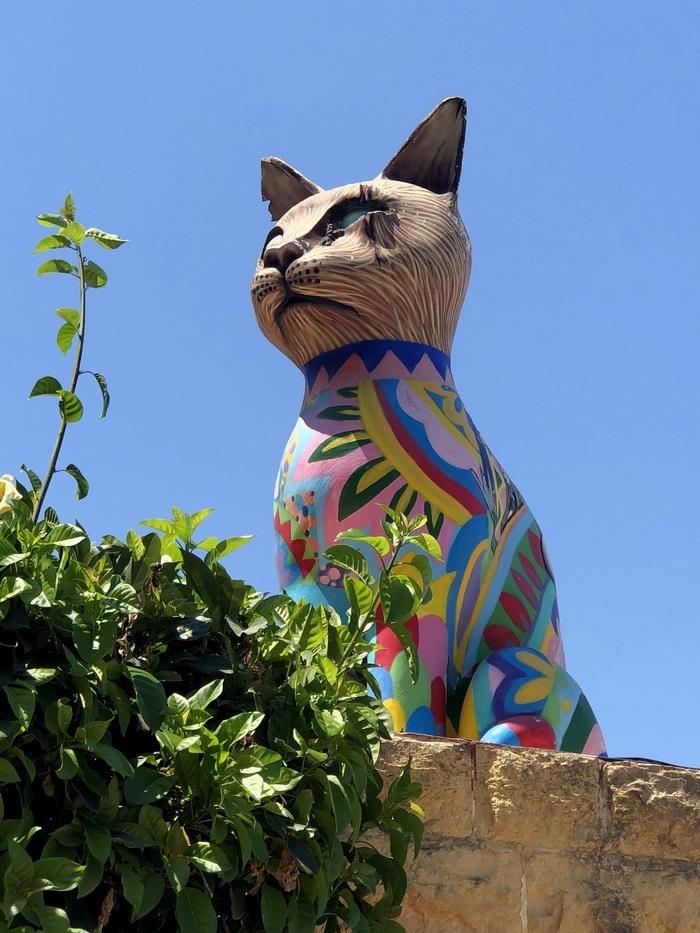 Exiles Bay(エキシルズ湾) 猫の像3