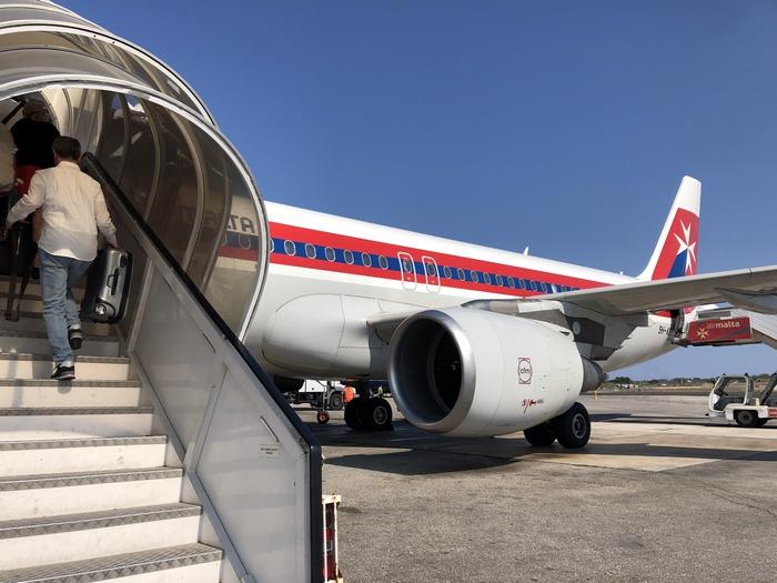 マルタ空港 搭乗 マルタ旅行最終日