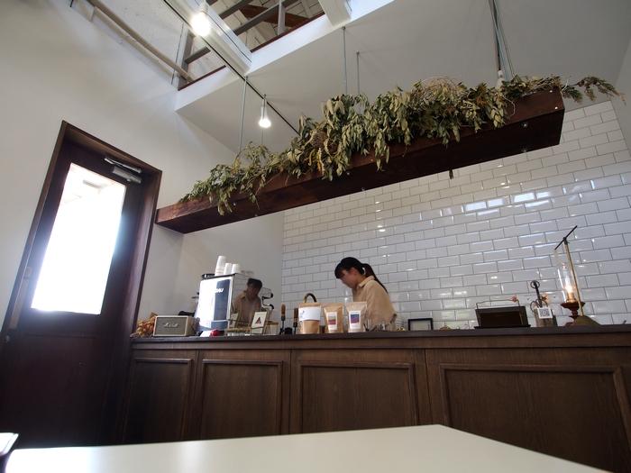 トキイロコーヒー 店内