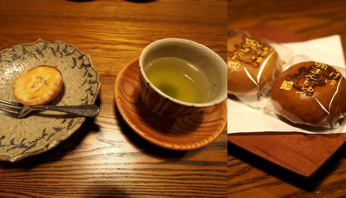 三水館 お茶と菓子