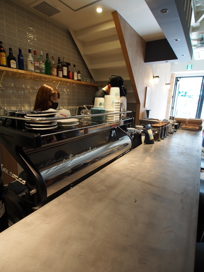 ZX COFFEE カウンター
